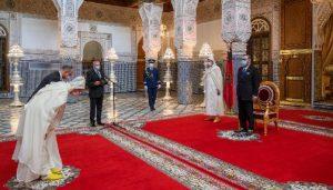 الملك يستقبل عبد النباوي