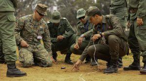 التعاون العسكري المغربي