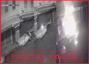 """اعتقال بطل فيديو إضرام النار في عربة للبضائع بالدار البيضاء """"فيديو"""""""