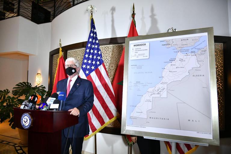 تغيردة ترامب التي تعترف فيها بمغربية الصحراء تباع بـ 90 ألف دولار