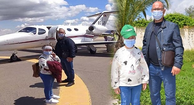 الطفلة مروة.. ريفية من الناظور يستجاب لنداءها والجالية تتكلف بعلاججها في اسبانيا التي نقلت اليها بطائرة خاصة