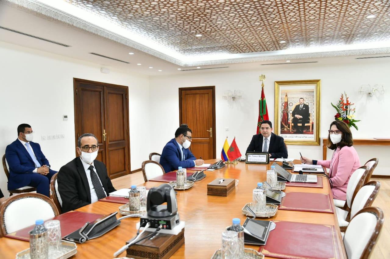 المغرب وكولومبيا يجددان التأكيد على الإرادة المشتركة لجلالة الملك