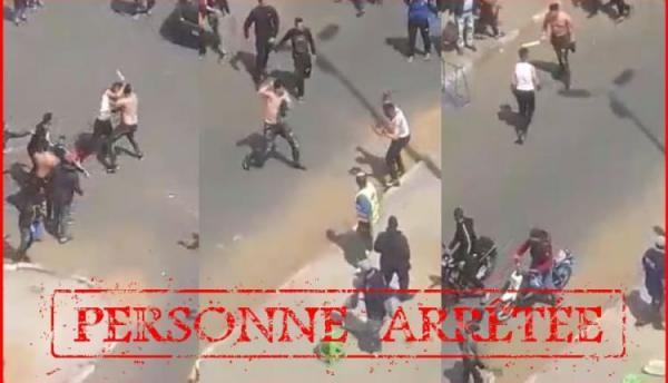امن البيضاء يتفاعل بسرعة مع فيديو المشاجرة بالسيوف في الشارع العام ويكشف عن تفاصيل الواقعة