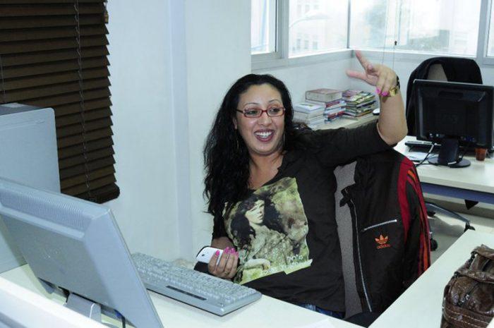 صحافية مغربية