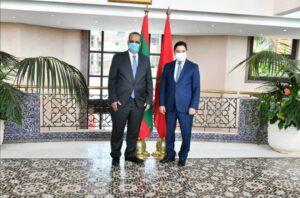 وزير الخارجية الموريتاني يصل الى المغرب كمبعوث من الرئيس الى جلالة الملك
