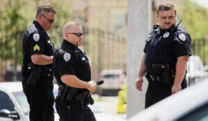 أمريكا الأسلحة الشرطة إطلاق نار