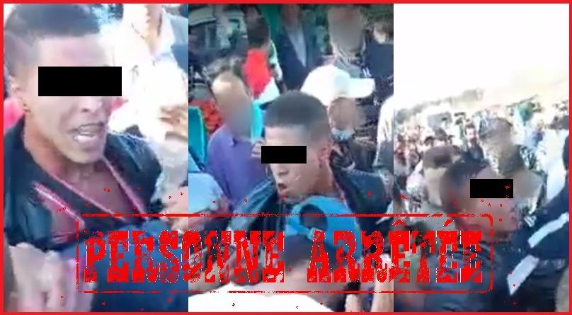 الكشف عن تفاصيل فيديو الاعتداء على عناصر امنية بالقنيطرة من قبل جانح