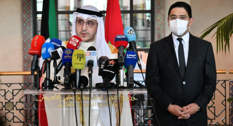وزير الخارجية الكويتي: المغرب والكويت عازمان على إعطاء زخم مضاعف لعلاقاتهما ويشيد بسياسة الملك