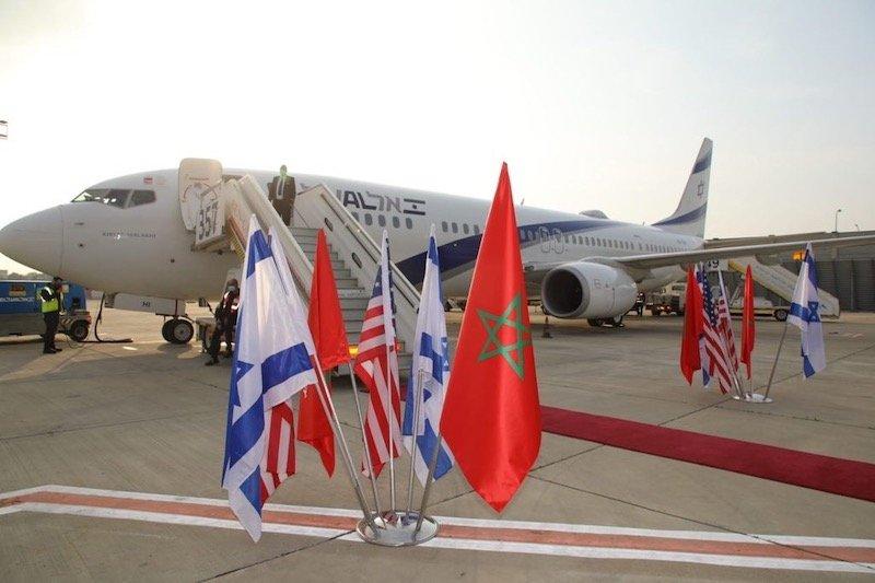 تأجيل الرحلات الجوية المباشرة بين المغرب وإسرائيل