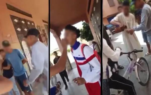 فيديو لتلاميذ يفطرون علانية بمراكش يثير المغاربة وسط مطالب بالتدخل ..