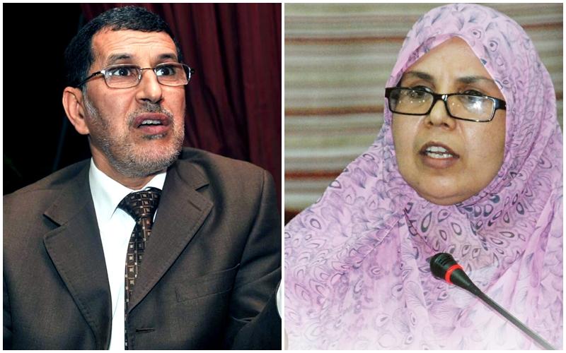 برلمانية بيجيدية تجلد العثماني: أنت منافق ومتخاذل وأياديك المرتعشة لا تصنع العزة والنصر