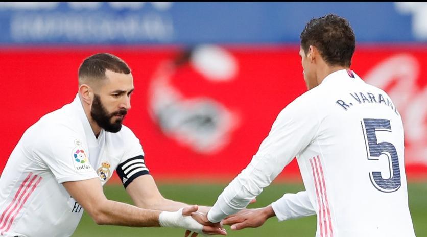 ريال مدريد يواصل ملاحقة أتلتيكو مدريد بعد فوزه على أوساسونا