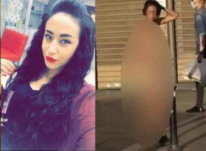 """شابة من مدينة الدار البيضاء تتعرى وسط اسطنبول بتركيا والسبب صادم.. """"صور كارثية"""""""