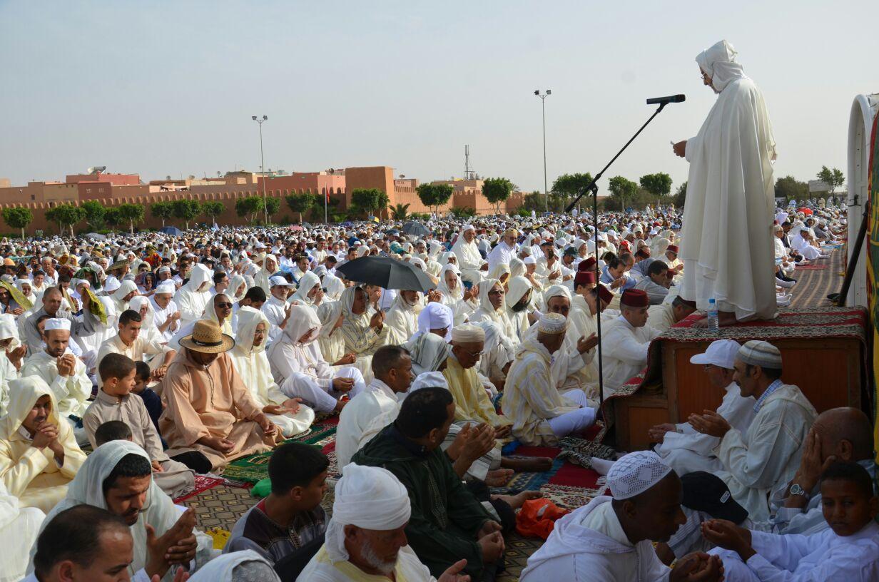 هذا ما تقرر بخصوص صلاة العيد في المساجد والمصليات..