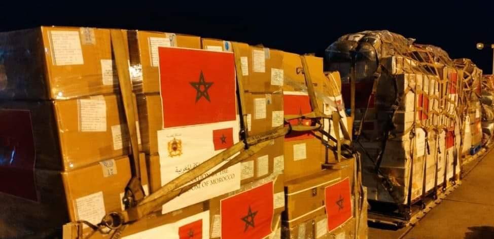 بعد التعليمات الملكية .. تونس انطلاق إرسال المساعدات الإنسانية العاجلة لفائدة الفلسطينيين