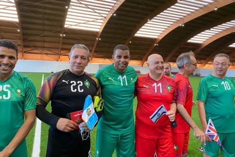 ممثل إسرائيل والقائم بأعمالها في المغرب يشارك في مباراة بالمعمورة