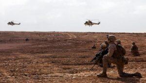 """بتعليمات ملكية.. التدريبات المغربية الأمريكية """"الأسد الإفريقي 2021"""" تتواصل بالمحبس"""