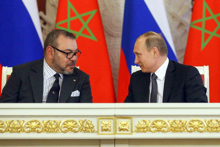 الملك محمد السادس: المغرب متمسك بتعزيز التعاون مع روسيا