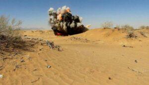 """البوليساريو تستغل صور عملية روتينية لتفجير الألغام بغية صنع معركة وهمية """"منتدى"""""""