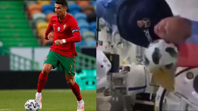 بالفيديو.. سخرية واسعة من رونالدو بسبب تسديدته في المباراة ضد إسرائيل