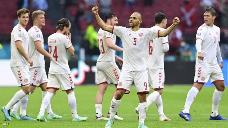 كأس أوروبا.. الدنمارك يتأهل لدور الربع