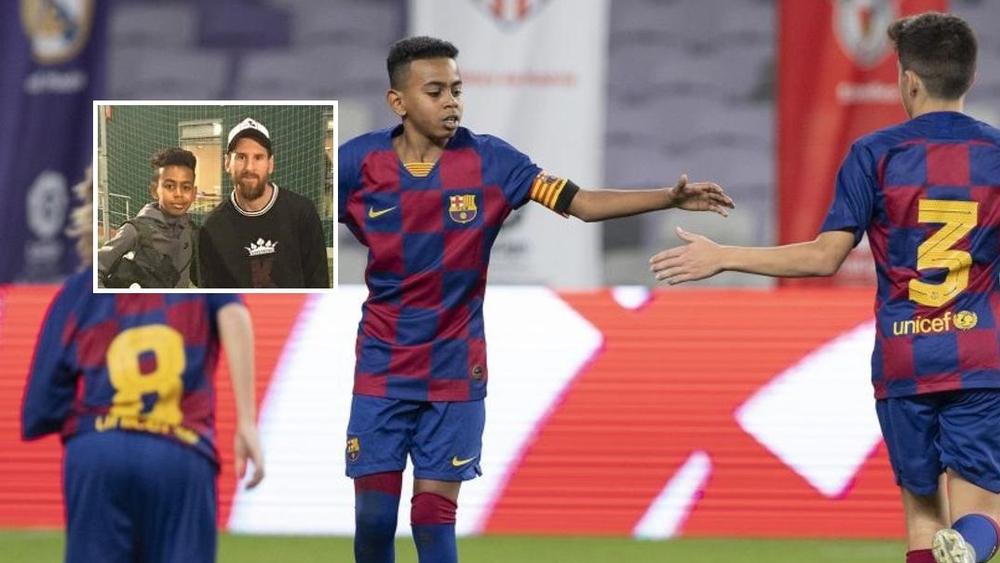 برشلونة يضمن بقاء النجم المغربي ضمن صفوفه