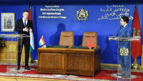 هنغاريا تجدد دعمها لمخطط الحكم الذاتي الذي اقترحه المغرب
