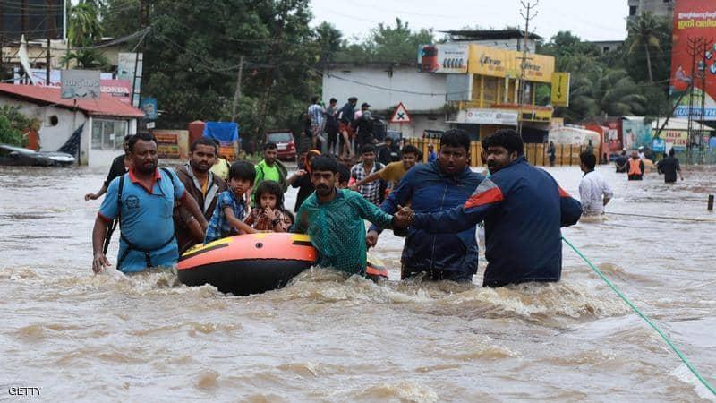 الهند الأمطار