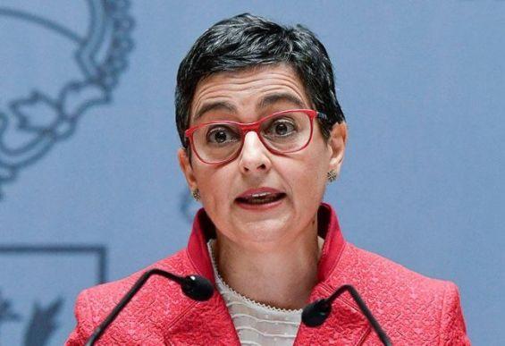 وزيرة الخارجية الاسبانية