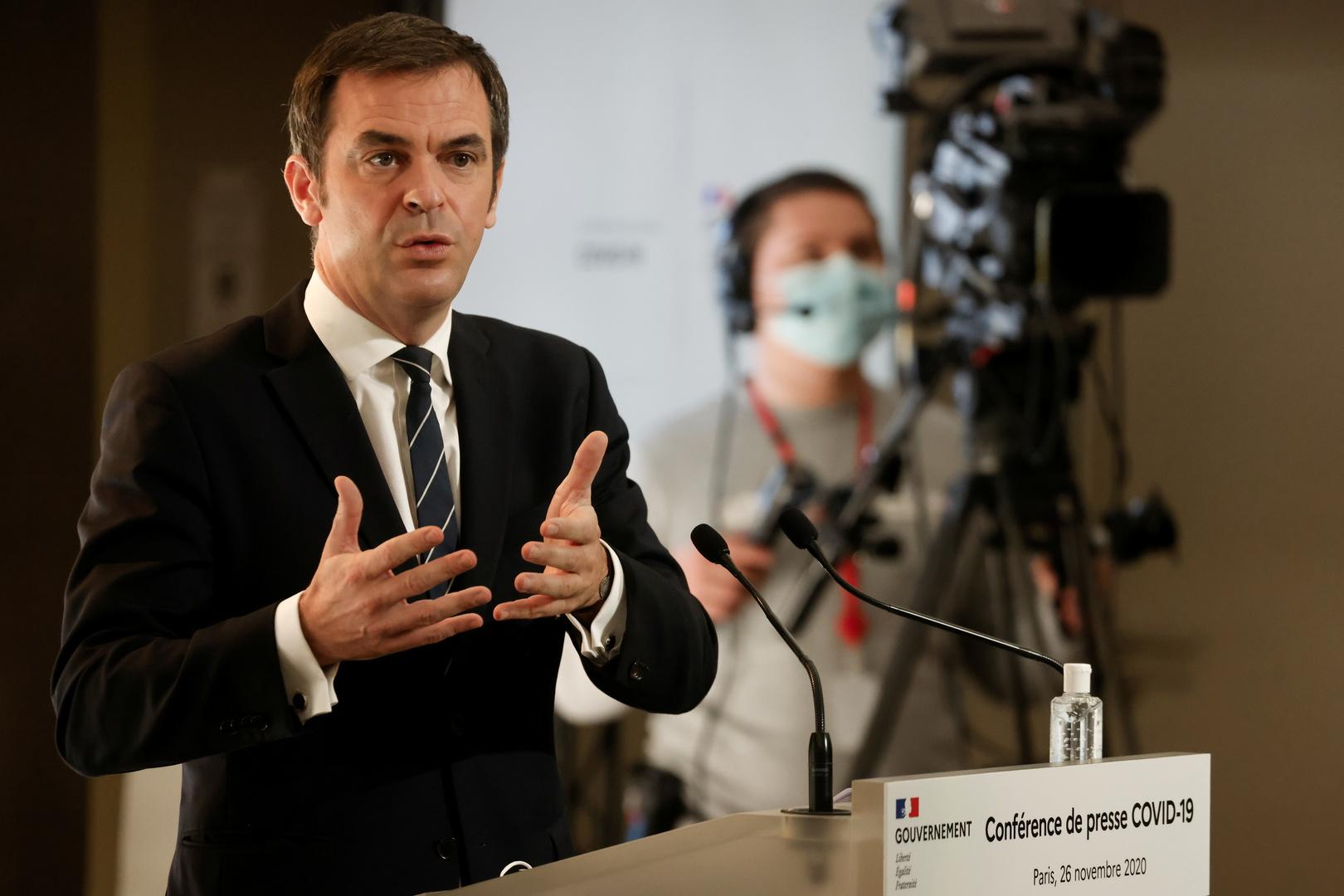 وزير الصحة الفرنسي، أوليفيي فيران،