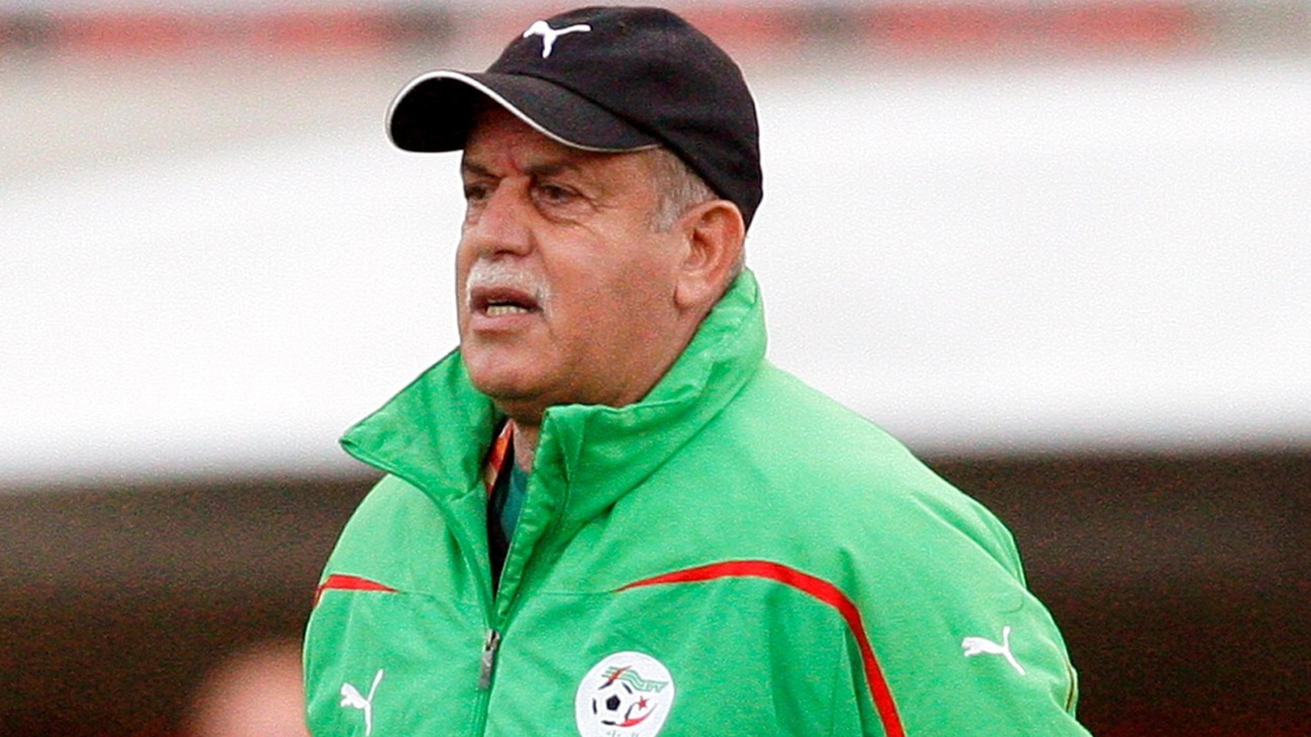 حقيقة وفاة المدرب السابق للمنتخب الجزائري رابح سعدان