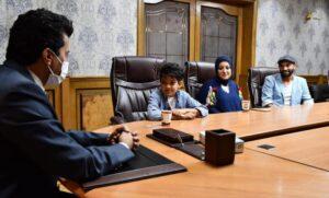 الطفل محمد اسامة