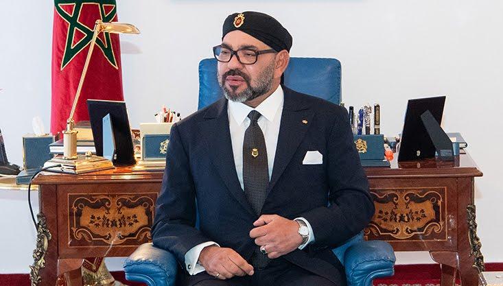 الملك محمد السادس النغرب