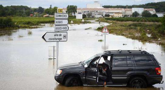 الفيضانات فرنسا