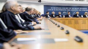 محكمة حقوق الانسان الأوروبية