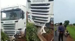 مصرع سائق مغربي