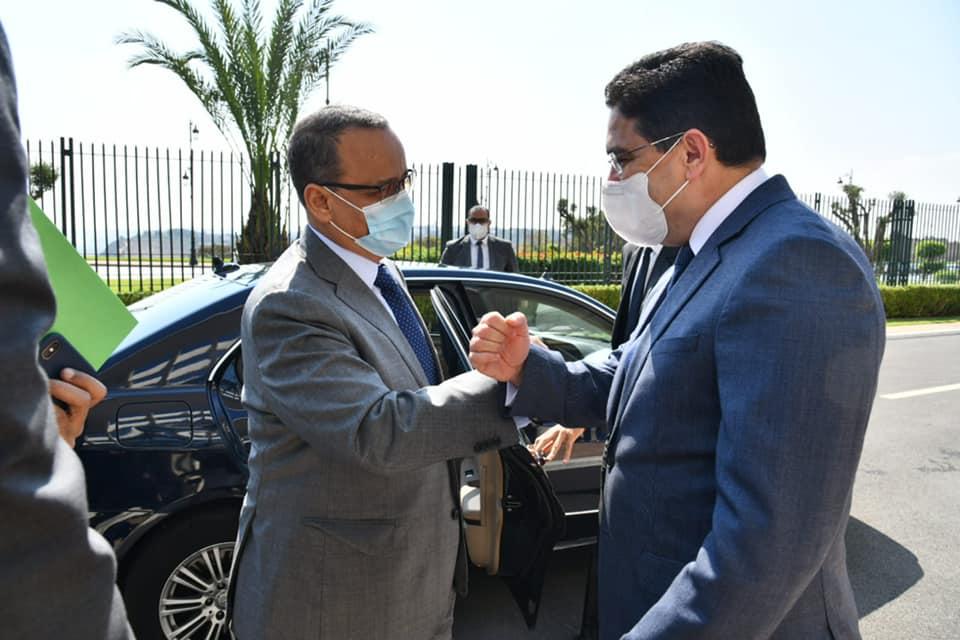 وزير الخارجية الموريتاني
