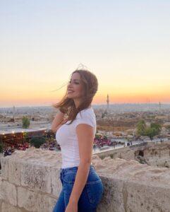 نسرين طافش في حلب